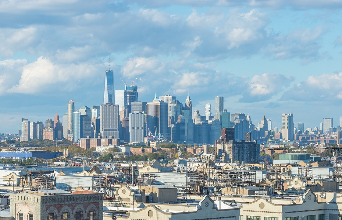 View North | Lower Manhattan Skyline
